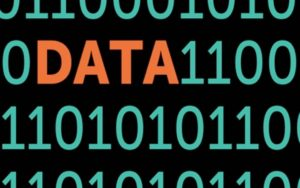 1s and 0s and the word Data