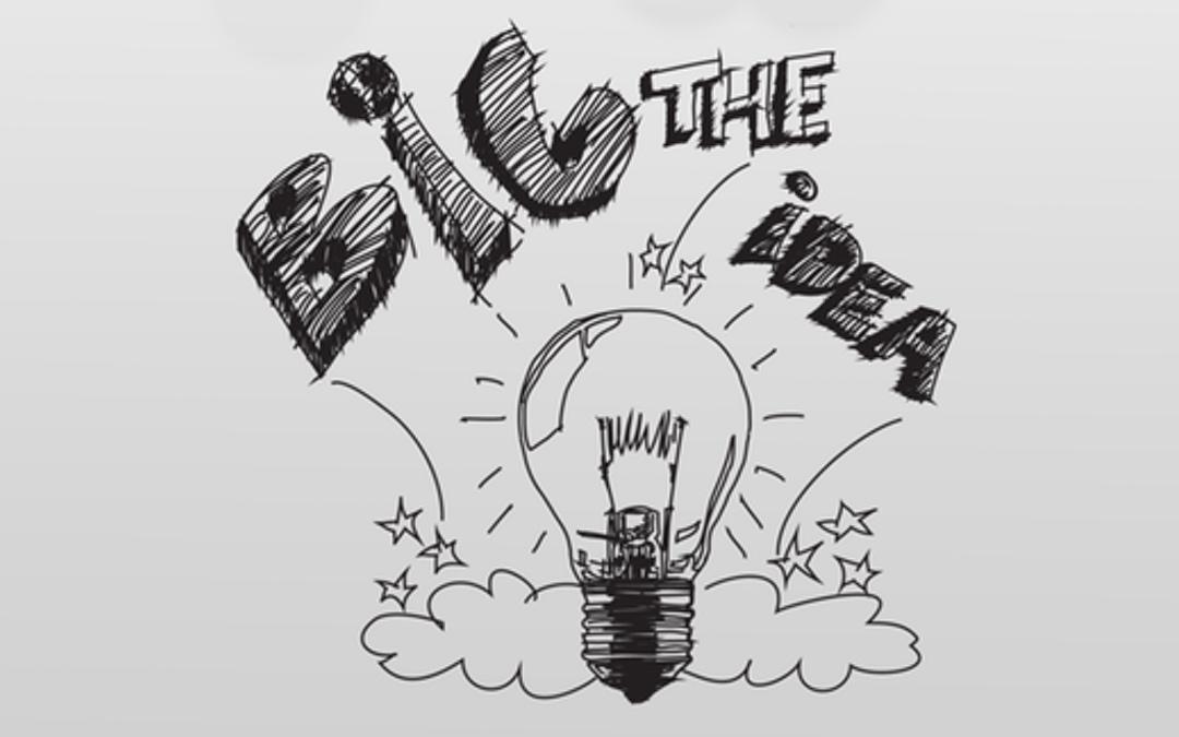 Light bulb with the words Big Idea